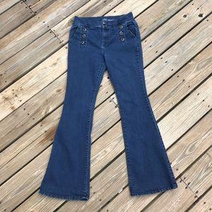 New York & Company Soho Jeans high waist flare